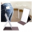 Stainless Steel Foldable Men and Women Cosmetic Mirror Image 5