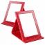 Alligator Pattern Portable Folding Mirror Image 1