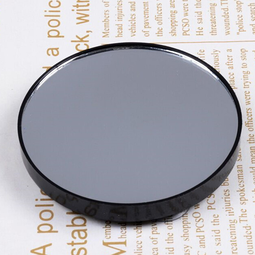 Round Shape Mini Mirror with Two Sucker Image 5