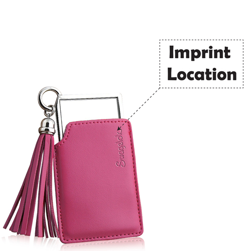 Creative Lady Pocket Mirror Imprint Image