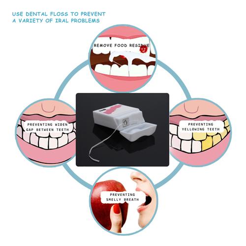 Dental Hygiene Floss String Box Image 5