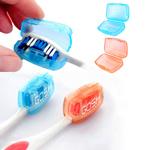 حامل فرشاة الأسنان المحمولة واقية