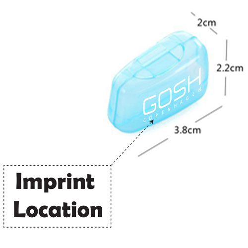 Portable Protective Toothbrush Holder Imprint Image