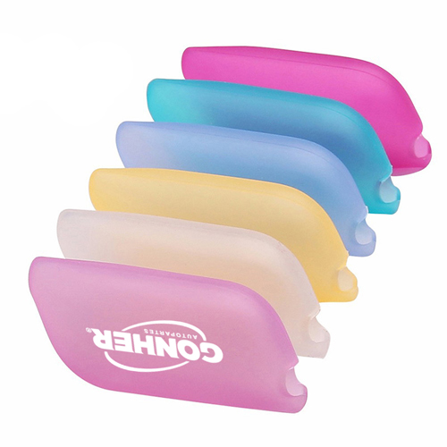 Portable 6 Pieces Silicone Toothbrush Cover Image 1