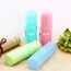 Portable Travel Toothbrush Holder with Rope Image 3