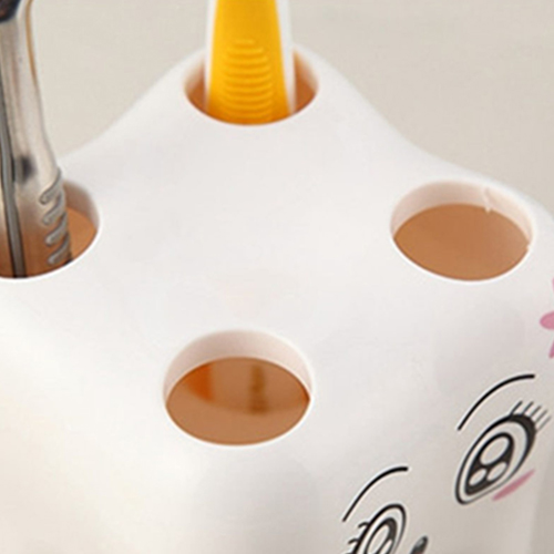 Tooth Shaped 4 Toothbrush Holder Image 3