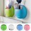 Bathroom Toothbrush Holder With Suction Hooks