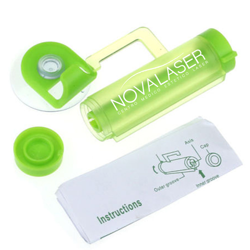 Rolling Toothpaste Squeezer With Sucker