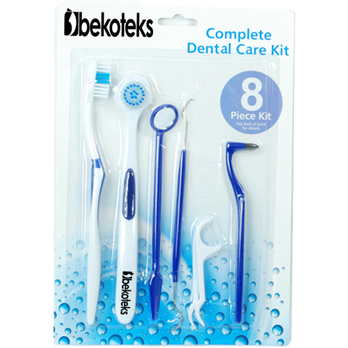Dental Care 8 Pieces Toothbrush Set Image 1
