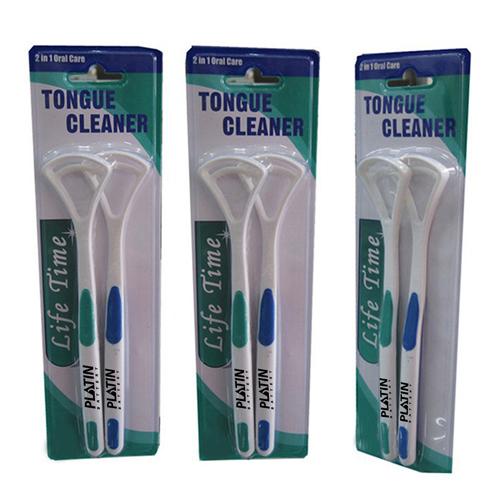 Oral 2 Pieces Tongue Scraper Image 4