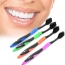 Soft Bamboo Charcoal 4 Pieces Toothbrush