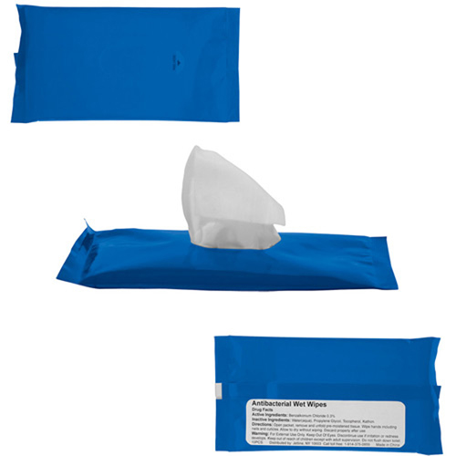 Re-Sealable Sanitizer Wipes Image 1
