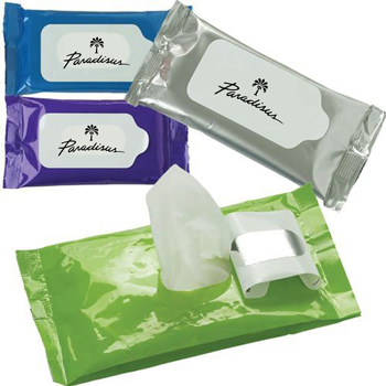 Antibacterial Wet Wipes Pouch
