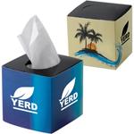 Mini Cube Tissue Wipes Box