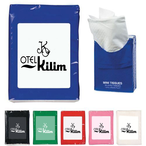 Mini Tissue Wipes Packets