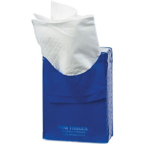 Mini Tissue Wipes Packets Image 5
