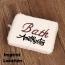 Bathroom Towel Washing Brush Imprint Image