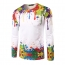 Long Sleeve 3D Casual Ink Shirt Image 4