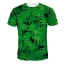 Short Sleeve 3D Printing Mens T Shirts Image 3