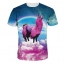Short Sleeve 3D Printing Mens T Shirts Image 5
