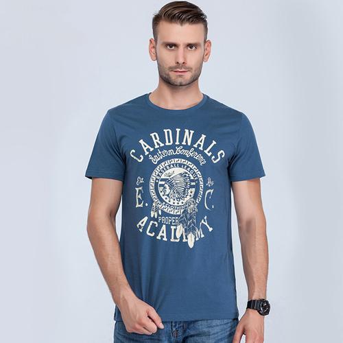 Short Sleeve Mens Cotton T Shirt