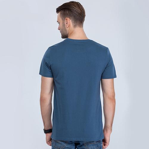 Short Sleeve Mens Cotton T Shirt Image 2