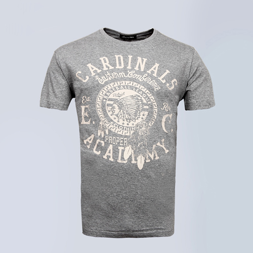 Short Sleeve Mens Cotton T Shirt Image 3