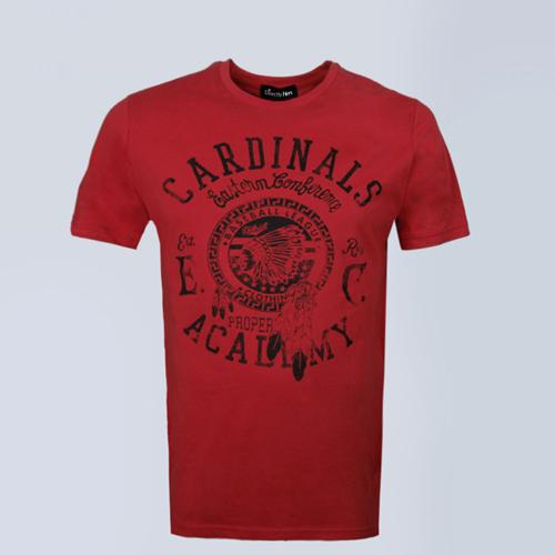 Short Sleeve Mens Cotton T Shirt Image 4