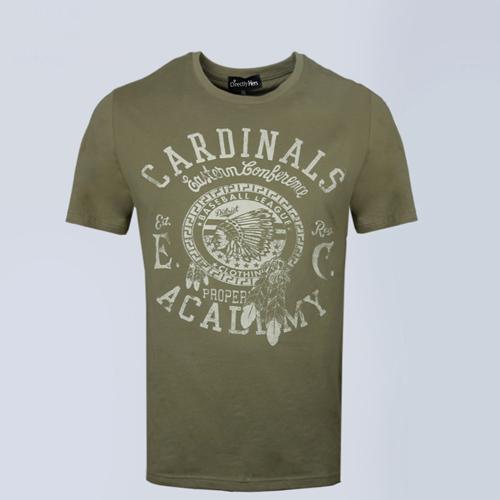 Short Sleeve Mens Cotton T Shirt Image 5