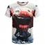 O Neck Design 3D Printing T Shirts Image 2