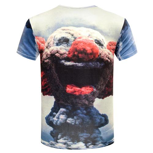 O Neck Design 3D Printing T Shirts Image 3