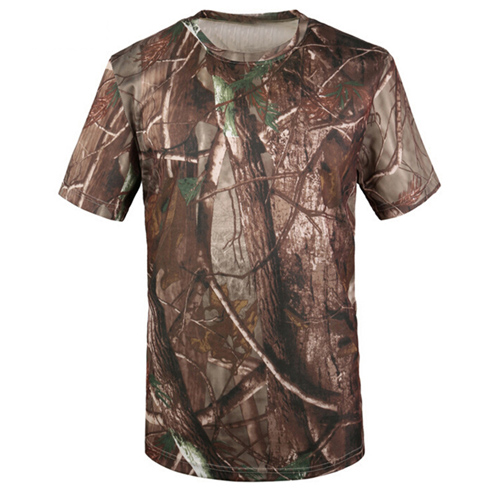 Quick Dry Mens Camouflage T Shirt Image 1