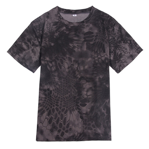 Quick Dry Mens Camouflage T Shirt Image 4