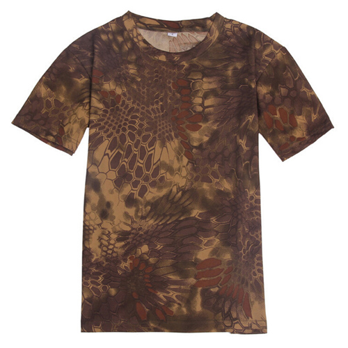 Quick Dry Mens Camouflage T Shirt Image 5