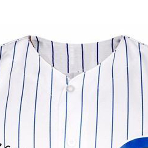 Pinstripe Mens Sport Jersey Image 2
