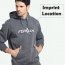Autumn Men Hooded Sweatshirt Imprint Image