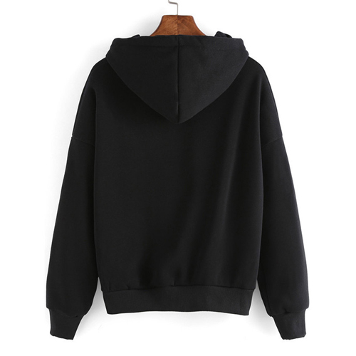 Pullover Women Hooded Sweatshirt Image 2