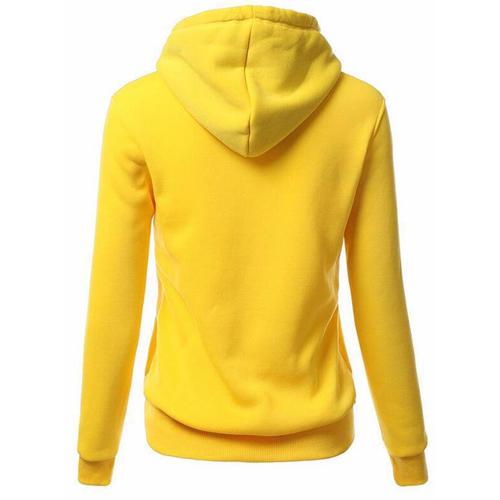 Front Pocket Hooded Long Sleeve Sweatshirt Image 6