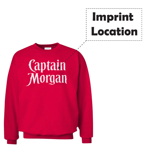 Mens Cool Streetwear Sweatshirt Imprint Image