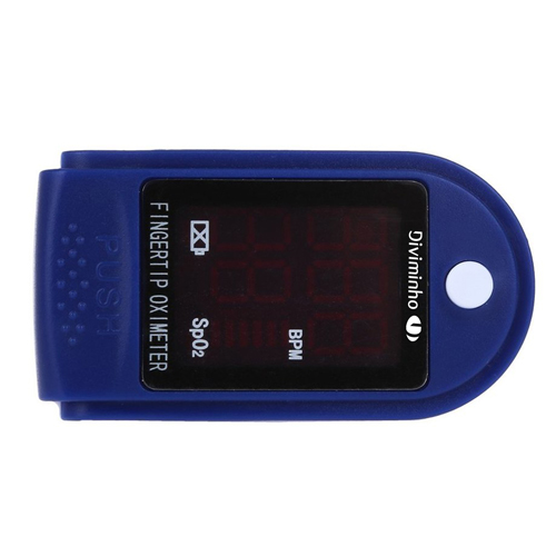 Digital Display Fingertip Pulse Oximeter Image 2