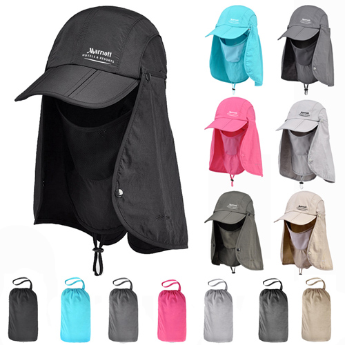 Removable Foldable Bucket Hats