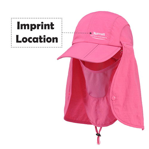 Removable Foldable Bucket Hats Imprint Image