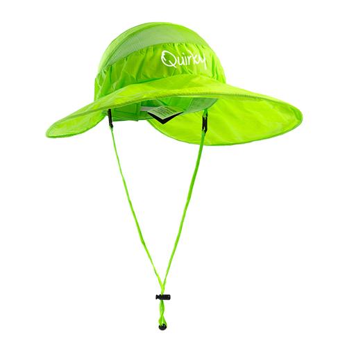 Wide Brim Foldable Mesh Bucket Hat