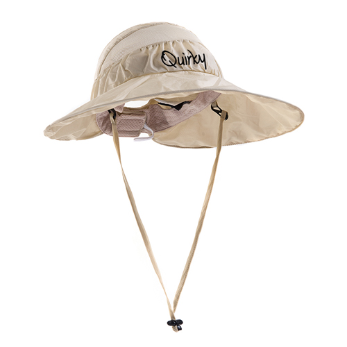 Wide Brim Foldable Mesh Bucket Hat Image 3