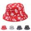 Unisex Print Dome Bucket Hat