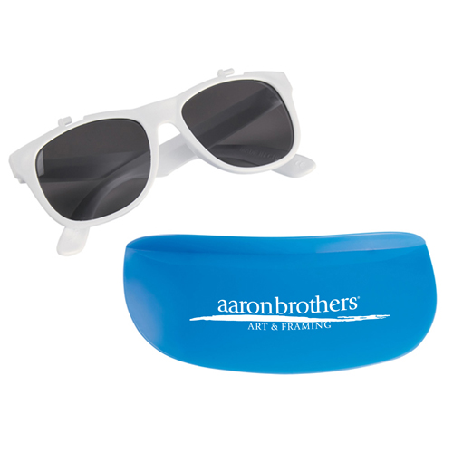 Custom Two Tone Visor Sunglasses Image 1