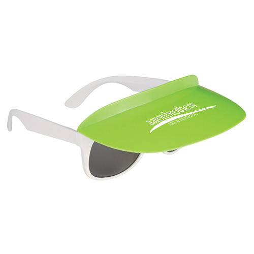 Custom Two Tone Visor Sunglasses Image 3