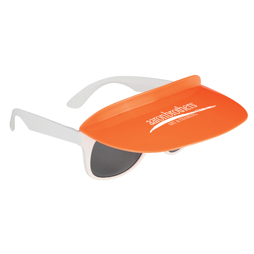 Custom Two Tone Visor Sunglasses Image 4