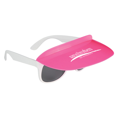 Custom Two Tone Visor Sunglasses Image 5