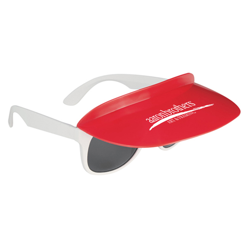 Custom Two Tone Visor Sunglasses Image 6